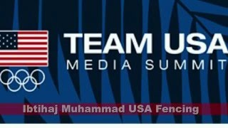 Team USA Media Summit - Ibtihaj Muhammad - Fencing  Gary Morgan Michigan Runner TV - GLSP