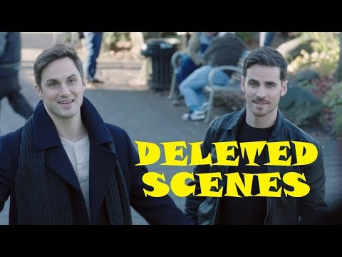 Once Upon A Time Season 7 Deleted s HD Lana Parrilla, Colin O'donoghue, Adelaide Kane