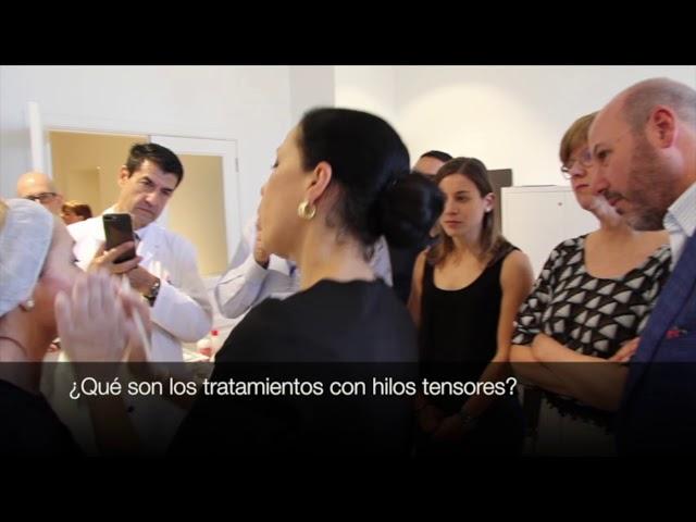 Masterclass de hilos tensores con la Dra. Elena Rumyantseva en Clínica DeSánchez