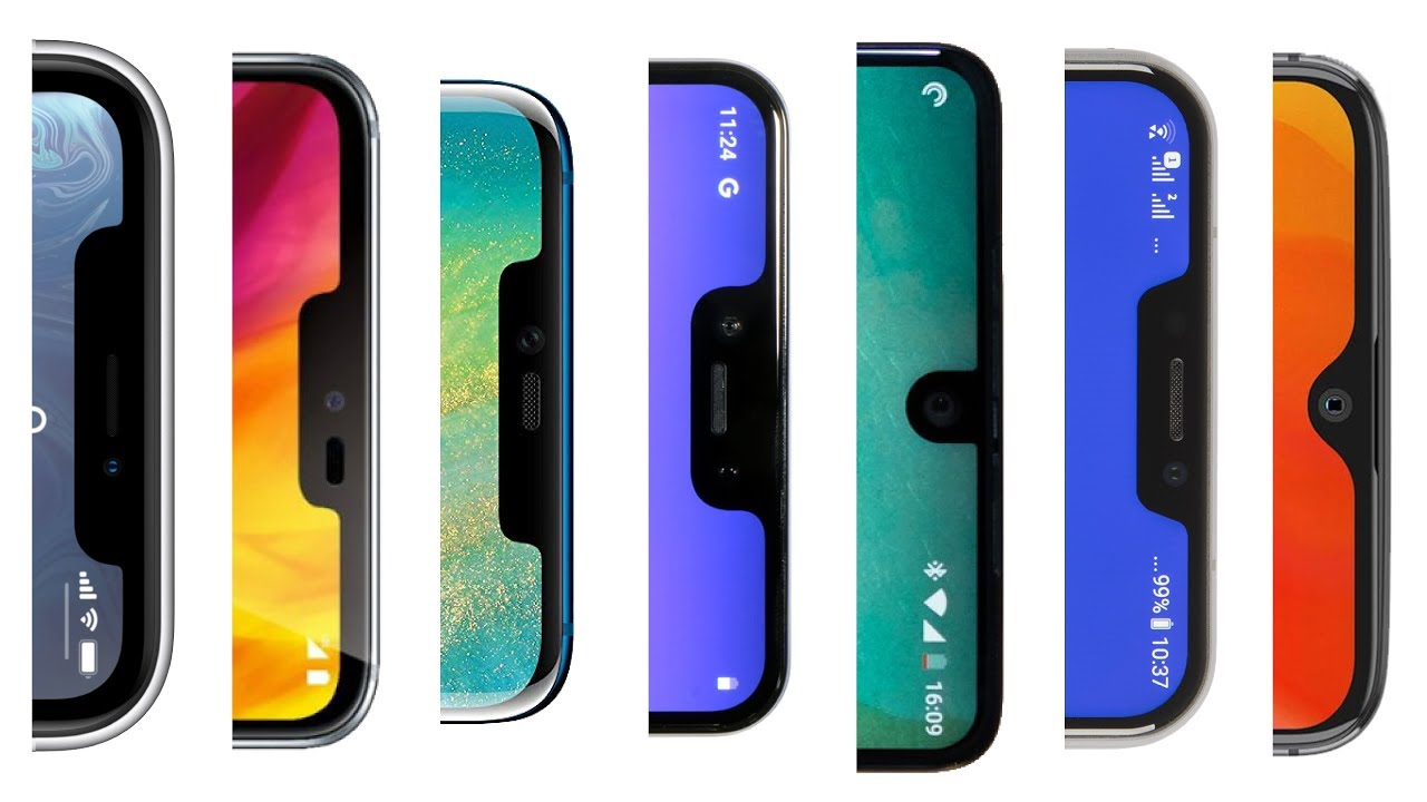 Can You Guess The Smartphone Notch?