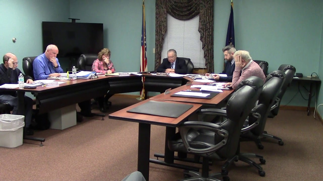 Champlain Town Board Meeting  1-8-19