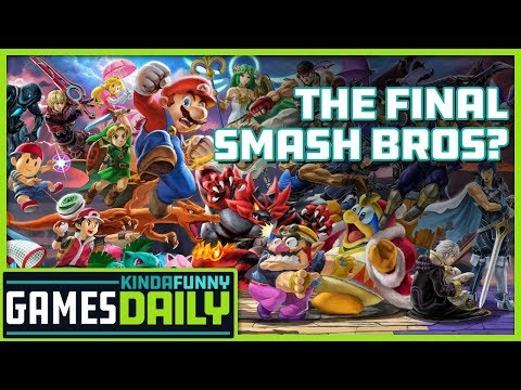 Is Ultimate the Final Smash Bros.? - Kinda Funny Games Daily 09.13.19
