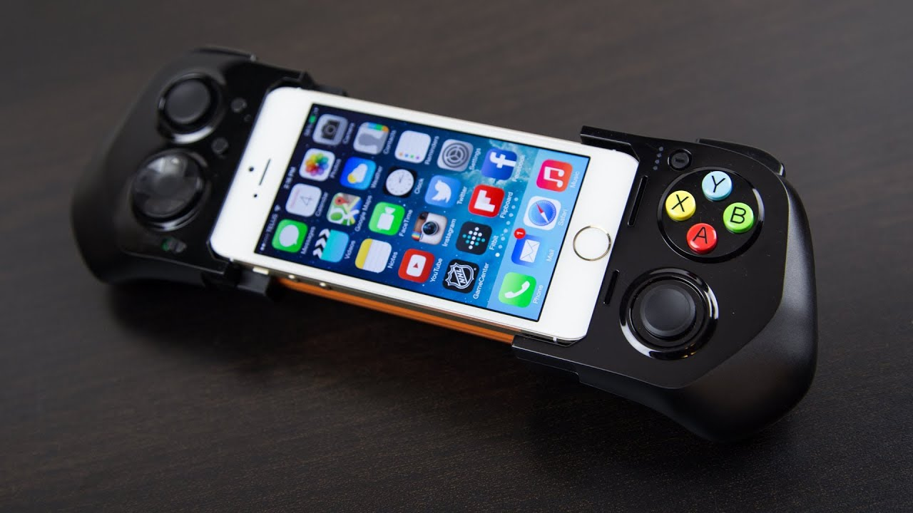 Iphone 7 Wallpaper Default Moga Ace Power Ios 7 Game Controller Review Youtube
