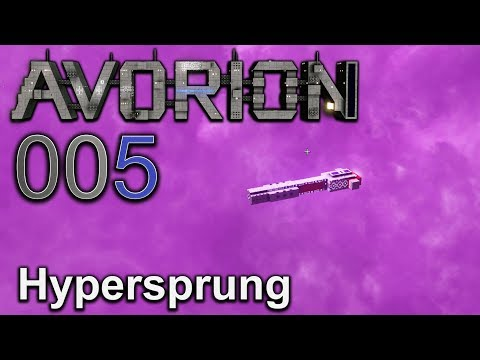 Hypersprung 🌀 [005] Avorion deutsch