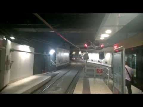 Marseille Tram 1 departing Noailles Tram station