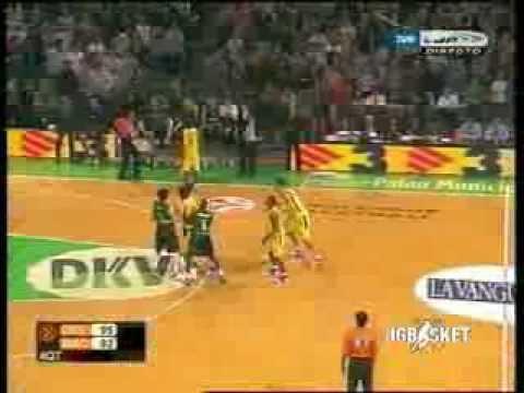 Euroliga 06-07. Joventut Badalona - Maccabi Tel Aviv. Best