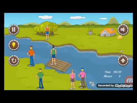 LEVEL River Crossing IQ Logic Game YouTube - River game
