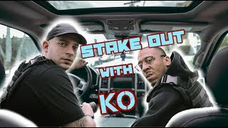 Stake out with KO...