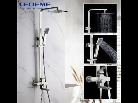Обзор душевой системы Ledeme L72433