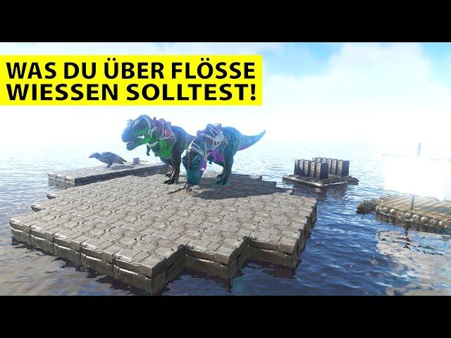 Tutorial ARK SE: Alles über Flöße / Rafts!! - Ark Survival Evolved:  German Gameplay #DGZ