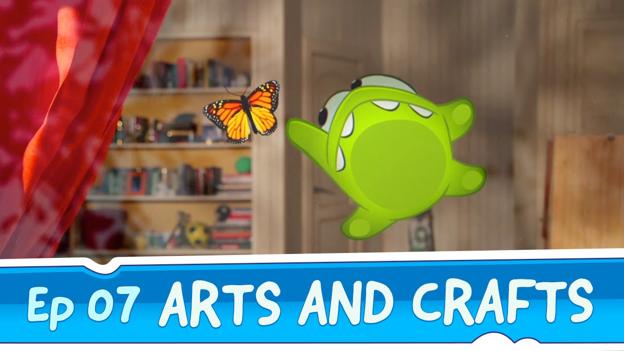 Om Nom Stories: Arts and Crafts (Episode 7, Cut the Rope ... - photo#5