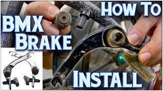 How To Install / Pขt On BMX Brakes