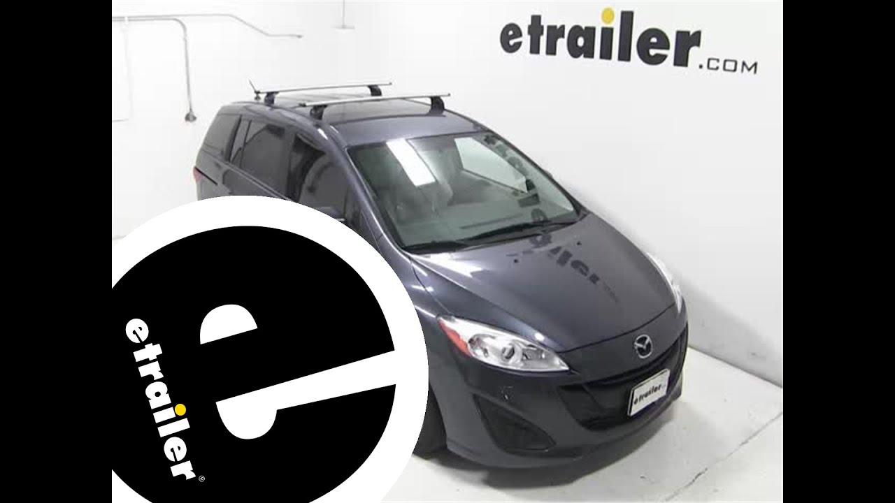 Installation Of The Thule Aeroblade Podium Roof Rack On A