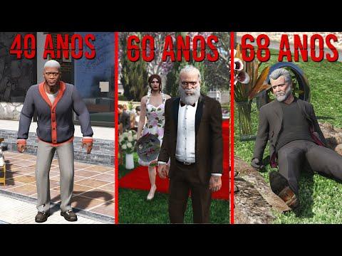 VIAJEI AO FUTURO PARA VER ELES VELHOS!! (GTA 5)