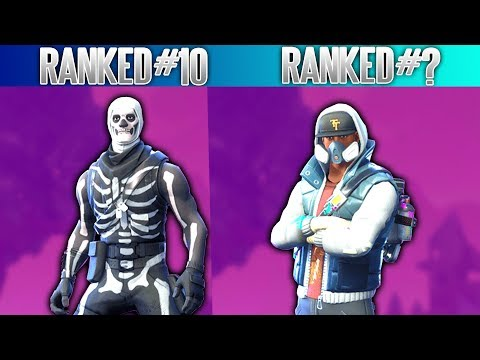 Top 10 Best Epic (PURPLE) Skins Inside Fortnite - Fortnite Season 4