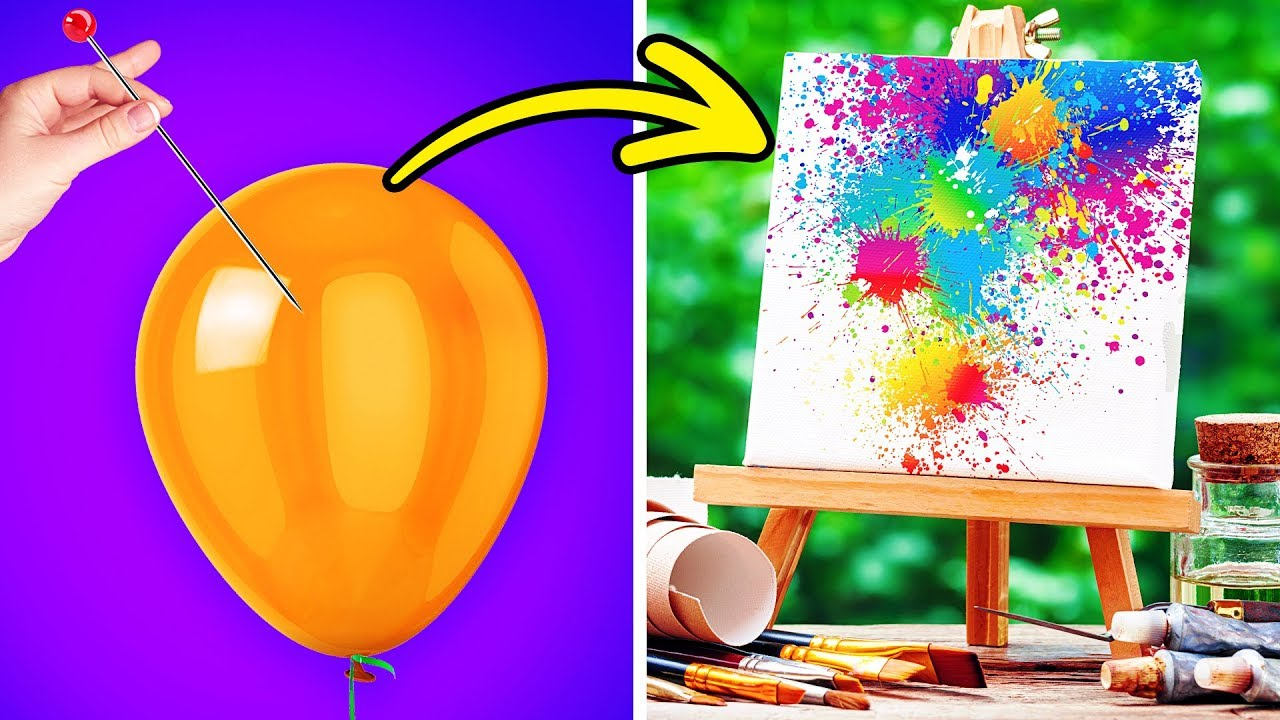 15 Abstract Art Ideas For Beginners Youtube