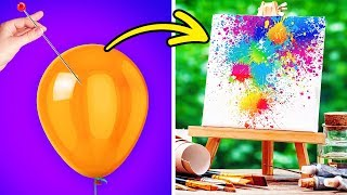 15 ABSTRACT ART IDEAS FOR BEGINNERS