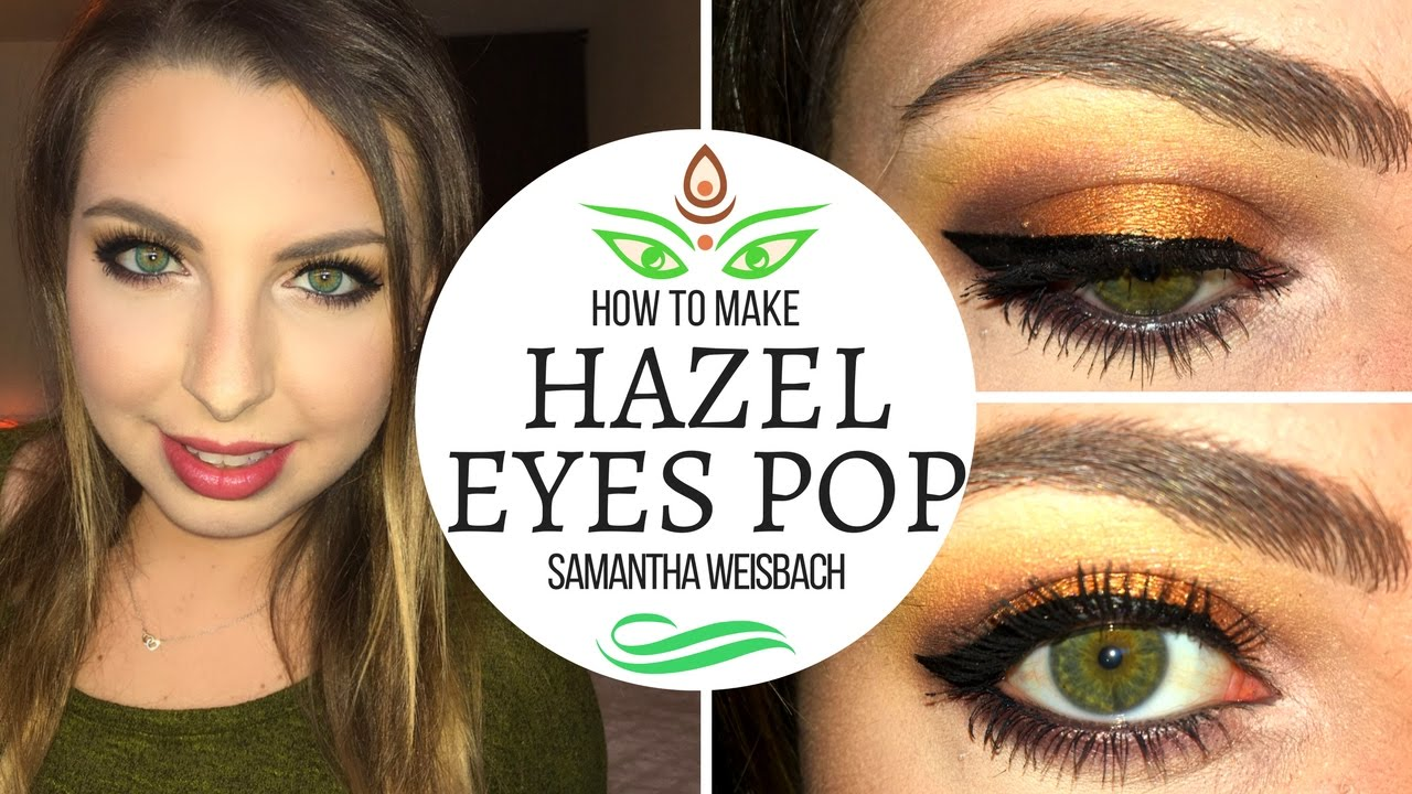 how to make hazel eyes stand out