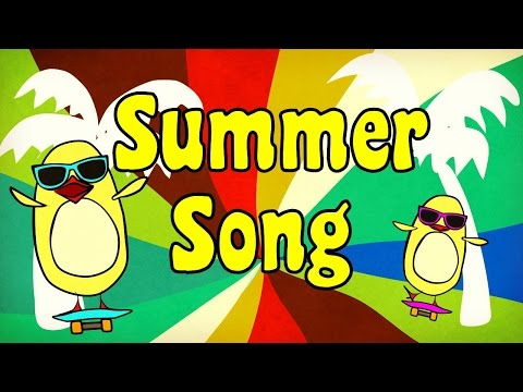 summer-song-for-kids-|-the-singing-walrus