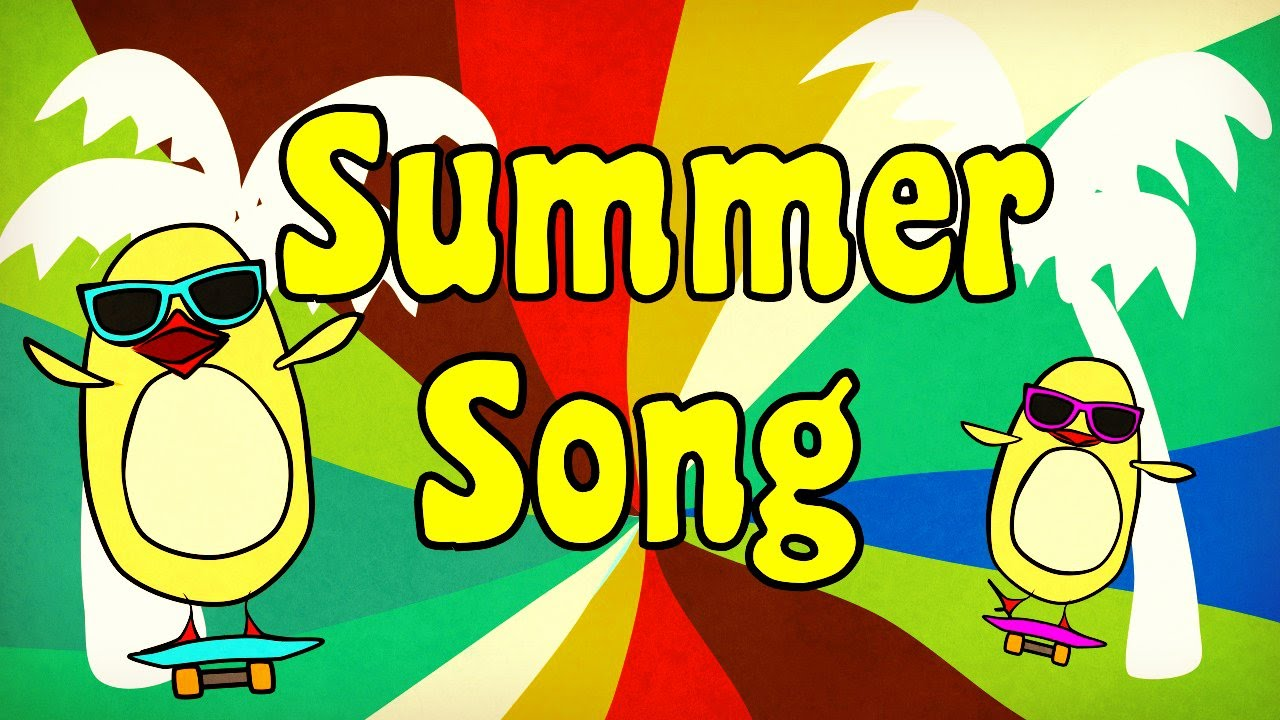 summer song for kids the singing walrus youtube - Summer Pictures For Kids