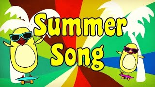 Summer Song for Kids  The Singing Walrus