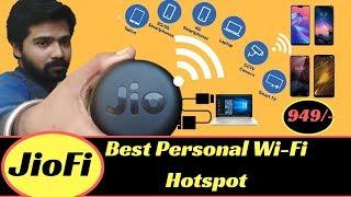 JioFi Hotspot JMR815 Unboxing & Setup in Hindi (खरीदने से पहले एक बार जरूर देखें) #PushkarUnscrew