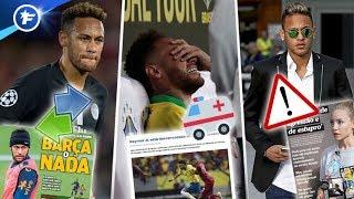 Neymar en pleine tempête | Revue de presse