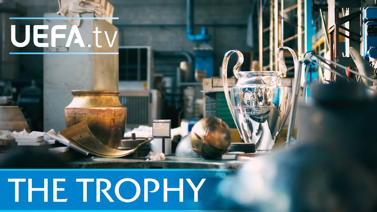 The story behind the UEFA Champions League trophy - YouTube