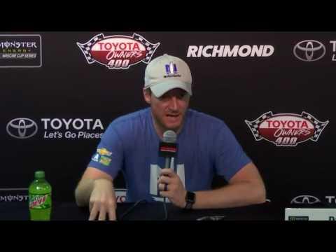 Dale Earnhardt Jr. Talks Retirement at Richmond Spring 2017