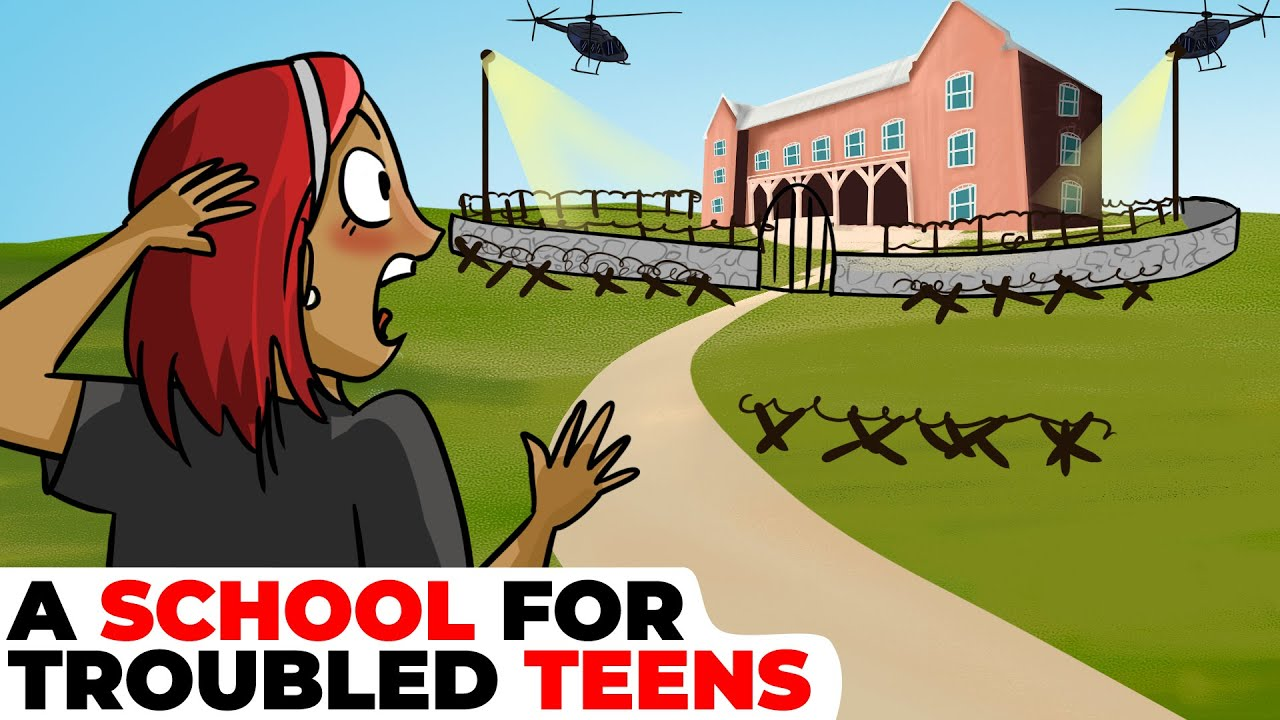 I Was Transferred to a School for Troubled Teens | Animated Story