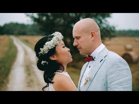 Wing Man & Hardo pulmavideo   Chinese-Estonian wedding in Saaremaa