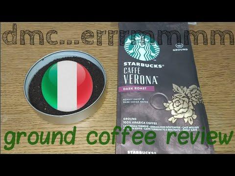 Starbucks Caffe Verona Ground Coffee Review.