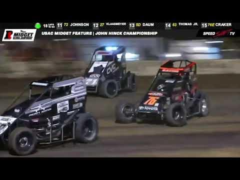 "USAC ""John Hinck Championship"" Highlights | Sweet Springs Motorsports Complex 7.15.18"