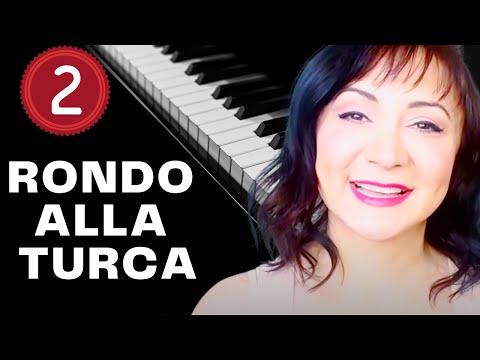 Rondo Alla Turca (Turkish March) Piano Tutorial - Part 2