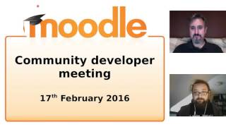 Moodle General Developers Meetings
