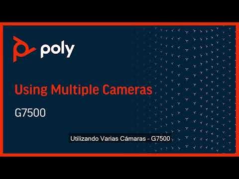 Poly G7500 con soporte de Mútiples Cámaras - Español