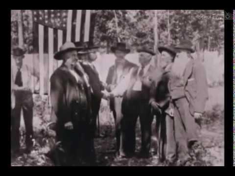 Footage of Civil War Veterans at 50yr Anniversary in 1913 & 75yr Anniversary in 1938