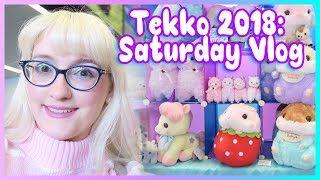 Tekko 2018 Saturday Vlog Meeting My Subscribers