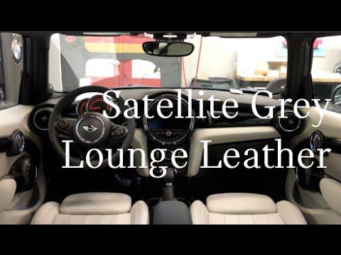 Satellite Grey Lounge Leather Interior Youtube