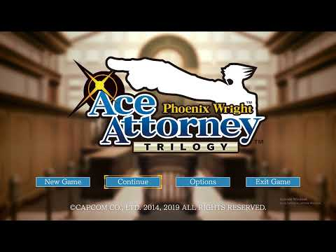 Phoenix Wright Ace Attorney Trilogy Gameplay Walkthrough! |