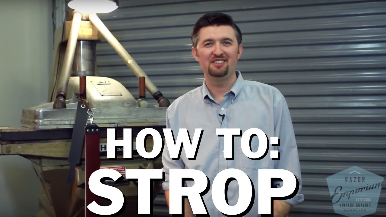 How To Use A Straight Razor Like A Barber Shop Pro | FashionBeans