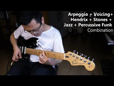 Guitar Tutorial - Enhance Rhythm Electric Guitar Playing - Blues Jazz Rock Funk - Gary Wiryawan