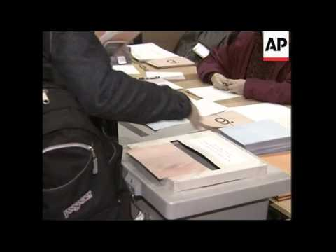 Polls open in parliamentary elections