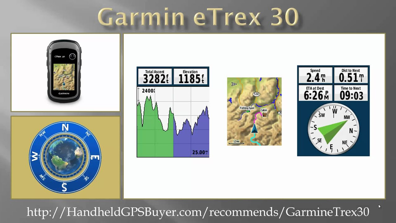 garmin etrex 30 youtube rh youtube com garmin etrex 30 instruction manual etrex 30 user manual