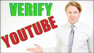 Verify Youtube Channel 2016 - How To Verify Your Youtube Account And Channel
