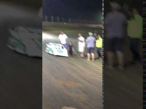 Hot Rod Cooper Lake Cumberland Speedway winners circle Interview 7-16-17