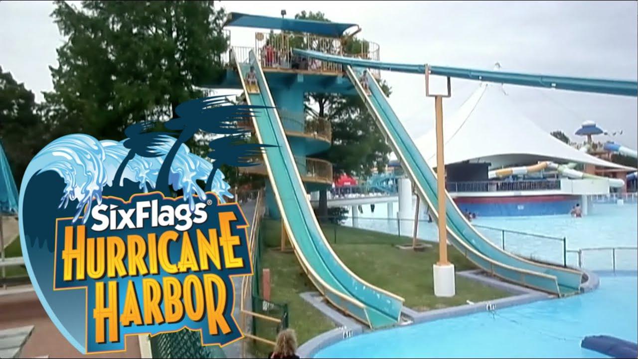 Six Flags Hurricane Harbor Arlington Tour - YouTube