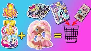 НОВЫЕ ВОЛОСАТЫЕ КУКОЛКИ Hairdooz & CANDYLOCKS | Кто круче: Новые куколки или LOL + HAIRDORABLES