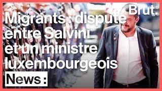 Incident entre le ministre des Affaires étrangères luxembourgeois et Matteo Salvini
