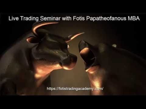 Live Trading Session with Asset Manager Fotis Papatheofanous MBA